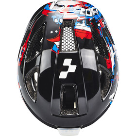 Cube Lume Helmet Kids black grafitti
